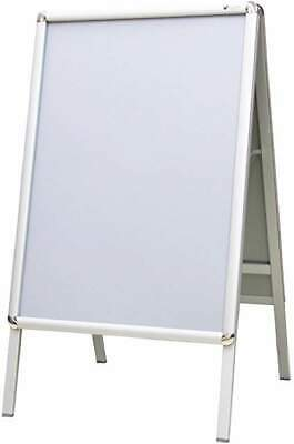 VIZ-PRO A1 A-Board Pavement Sign Double Sided Poster Holder Outdoors/Poster Stan