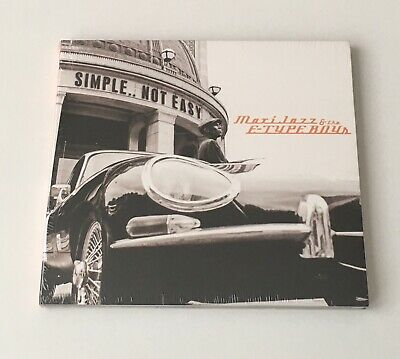 "Maxi Jazz and The E-Type Boys ""Simple.... Not Easy"" CD New Sealed"