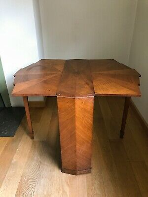 Art Deco Drop Leaf Occasional Table