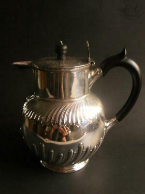 Quality Antique Victorian Martin & Hall Company Silver Plated Milk Pitcher!