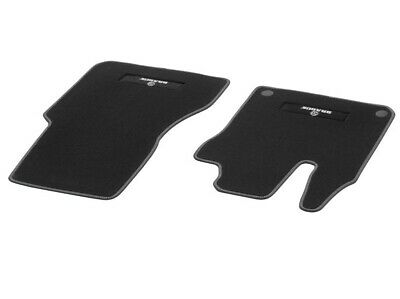 Genuine Smart Fortwo Forfour 453 Brabus Floor Mats Front Velour Black Seams Sil