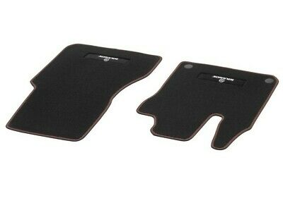 Orig Smart Fortwo Forfour 453 Brabus Foot Mat Front Velours Black Seams