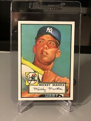1952 Topps #311 Mickey Mantle Rookie Rp