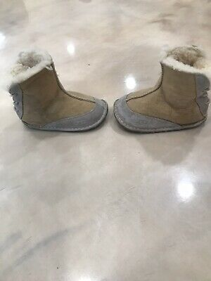 2f11ba781ac UGG AUSTRALIA BOO Winter Boots Booties CHOCOLATE Infants Size Small ...