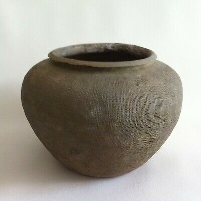 Chinese Eastern Zhou Large Hard Pottery Jar