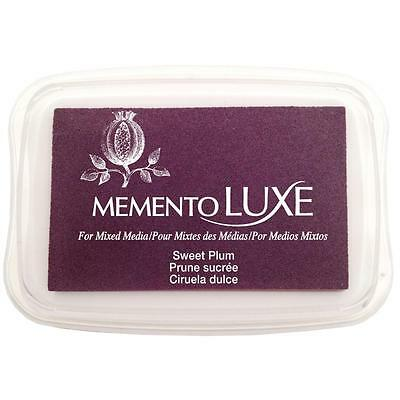 SWEET PLUM - Memento Luxe Mixed Media Ink Pad - Tsukineko - Purple