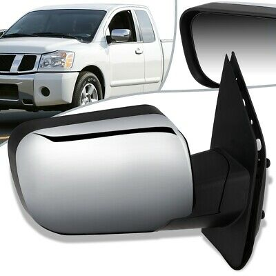 Burco 4015H Upper Flat Passenger Side Power Replacement Mirror Glass Heated for 2004-2015 NISSAN TITAN