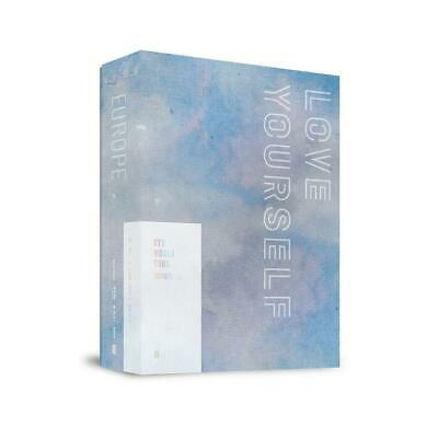 BTS WORLD TOUR LOVE YOURSELF IN EUROPE DVD 2CD+Buch+2Karte+PreOrder+GIFT+TACKING