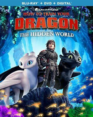 How to Train Your Dragon,The hidden world Digital Co+Blu-ray/DVD Pre-order