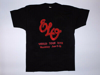 ELO shirt, Electric Light Orchestra sweatshirt, t-shirt, 1970s original vintage