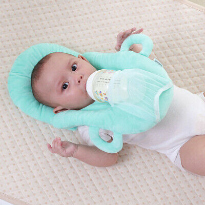 Pillow Baby Newborn Head Care Pillow Baby Feeding Bottle Holder Safety Pad