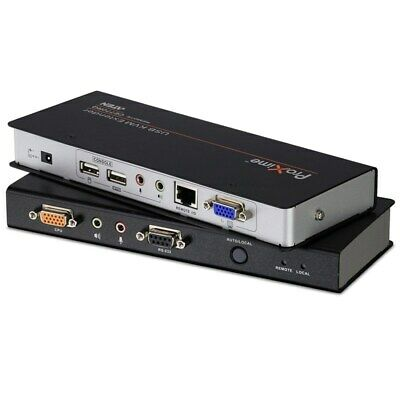 New  Aten Usb Vga Kvm Console Extender With Deskew, Audio & Rs232 - 1920X1200