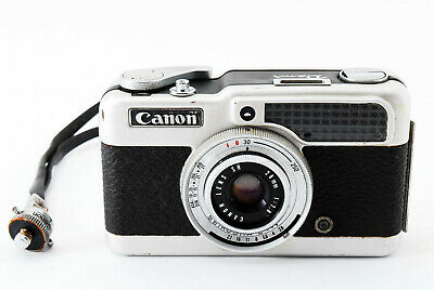 【AS IS】 Canon Demi 35mm Half Frame Film Camera w/ 28mm f/2.8 Lens Japan #0190196
