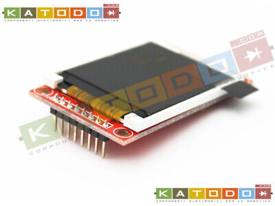 1.8'' 128X160 Tft Spi Serial Lcd Module For Arduino With Sd Card Socket
