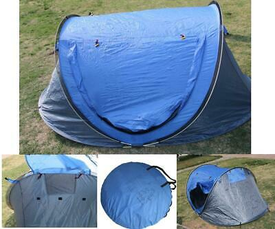 Outdoor Automatic Pop Up Tent Waterproof Sleeping Camping Canopy Speed Open Tent