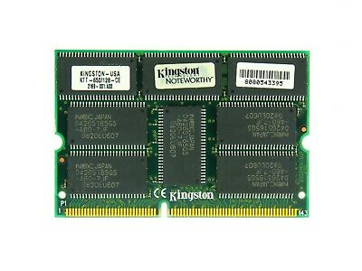 KTT650/128 Kingston 128MB SODIMM Non ECC EDO Memory for Toshiba Satellite 330CDT