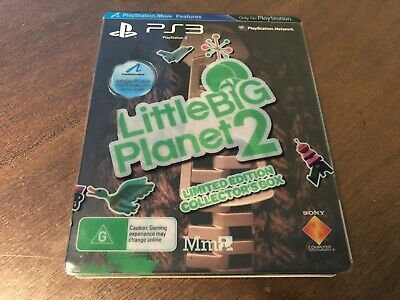 Little Big Planet 2 Limited Edition + Steelbook Sony Playstation 3 PS3 Game AUS
