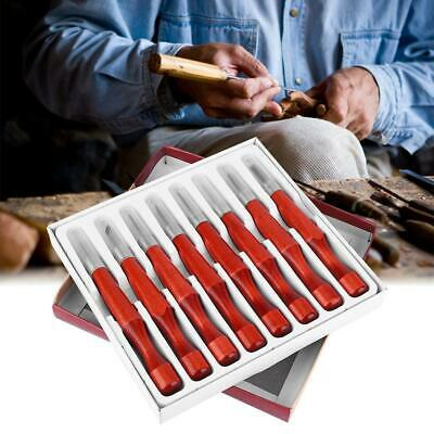 Burin Woodpecker Dry Hand Wood Carving Tools Chip Detail Chisel set Knives tool