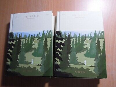 CHEN (EXO) - April, and a flower (1st Mini promo) with Autographed (Signed)