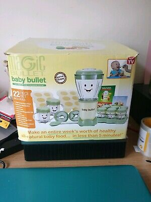 Magic Bullet Baby Bullet Machine Boxed Very Good Condition With All Parts Fwo