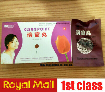 1 Box Original Feminine hygiene Swab Herbal Clean Point Beauty Herbal Tampon 6pc