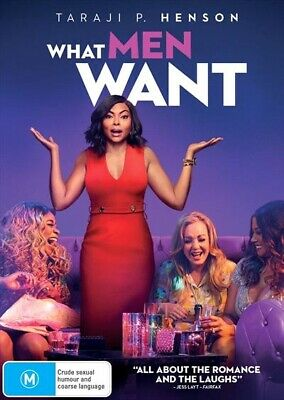 What Men Want (DVD, 2019) NEW