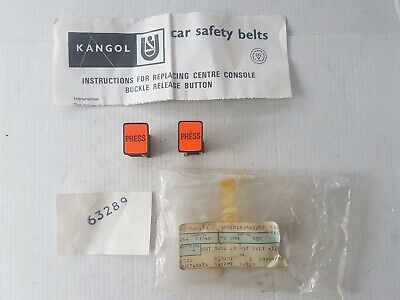 Kangol Seat Belt Stalk Replacement Buckle Buttons Bmc Triumph Mg Austin Morris