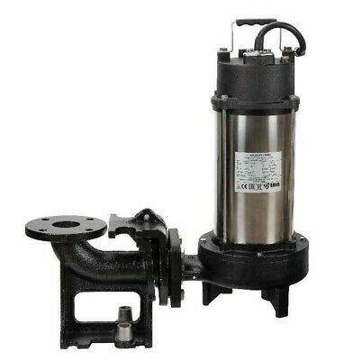 IBO Heavy Duty 1.8KW ULTIMATE GRINDER Submersible Sewage Dirty water + SUPPORT