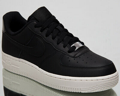 5e732b9c35 Nike Air Force 1 '07 Essential Womens Black Casual Lifestyle Sneakers AO2132 -004