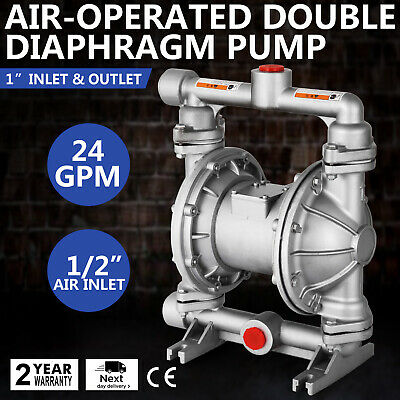 Air-Operated Double Diaphragm Pump Double Diaphragm Air-Operated Low Viscosity