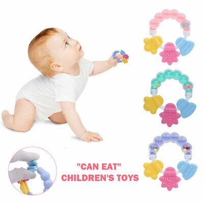 Safe Baby Rattles Gum Toys Multifunctional Bell Teether Rattle Gum Baby Toys