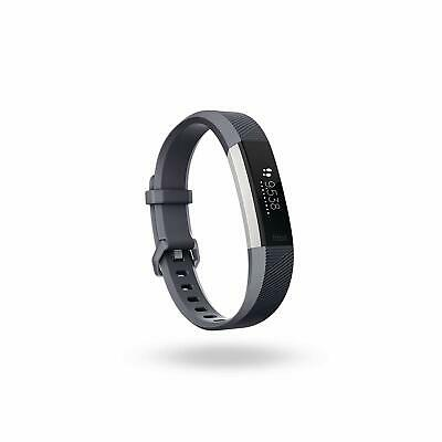 Fitbit Alta HR Heart Rate Activity Tracker, Size Large, Blue Gray