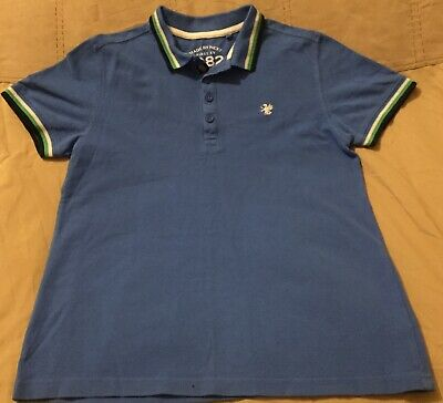 Next Smart Blue Boys Polo Shirt Age 11 Years