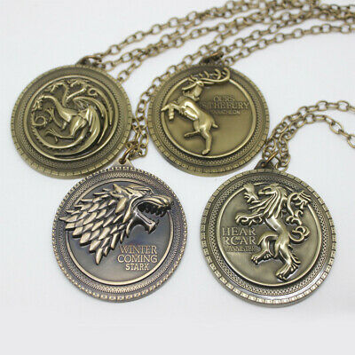 Game of Thrones necklace Holiday gift Unisex-torque