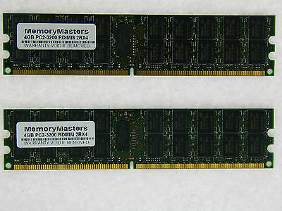 8GB 2x4GB Dell PowerEdge 1850 PC2-3200 Memory RAM Upgrade ECC REG