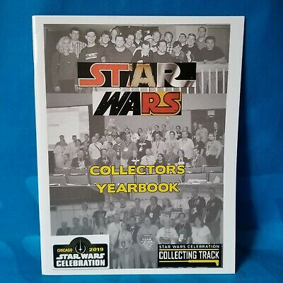 New! Star Wars Celebration 2019 Chicago Collectors Yearbook Book