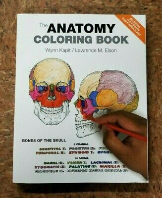 The Anatomy Coloring Book by Elson and Kapit PB --- (B37)