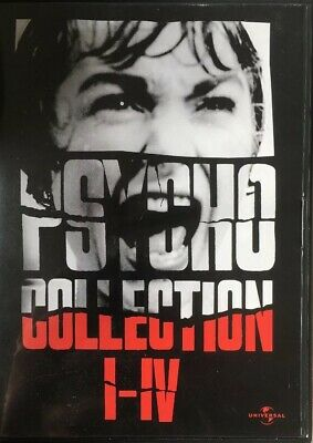DVD Box Psycho Collection 1-4 Top Kult Thriller 4 DVDs Anthony Perkins