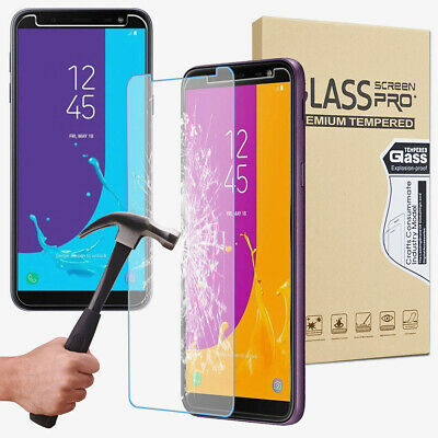 For Samsung Galaxy S6 S7 Edge S8 Plus S9+ Screen Protector Thin Tempered Glass