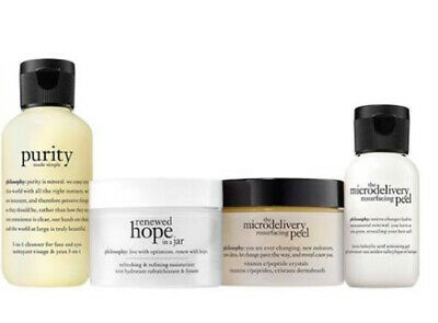 Philosophy Hope Cleanse, Peel And Treat Skincare Gift Set