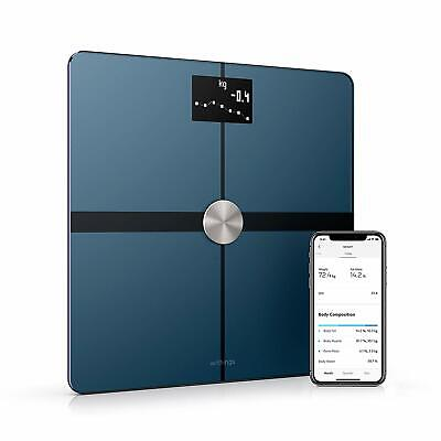 Withings / Nokia | Body+ - Smart Body Composition Wi-Fi Digital Scale with smart