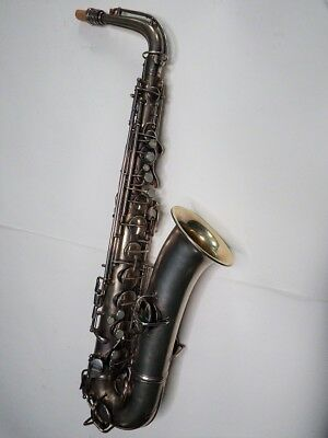 Conn Silver Plated C Melody Saxophone #103781