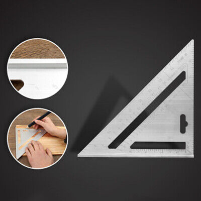 Aluminum Alloy Ruler Angle Protractor Measuring Framing Tool Rafter Carpenter
