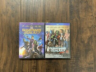 Guardians of The Galaxy 1 and 2 Marvel DVD Free Shipping Brand New