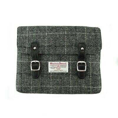 Grey Check iPad/Tablet Case 100% Harris Tweed - by Glen Appin