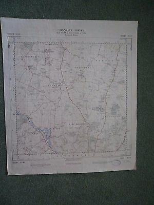 "Ordnance Survey 2.5"" Map SU47 Chieveley 1949 Leckhampstead Chaddleworth Boxford"