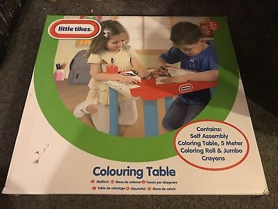 LITTLE TIKES COLOURING table brand new - £13.50 | PicClick UK