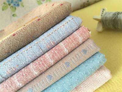 Dye-Yarn Quilting Boro Cotton Fabric Sashiko Rustic Primitive Farmhouse Bundle A