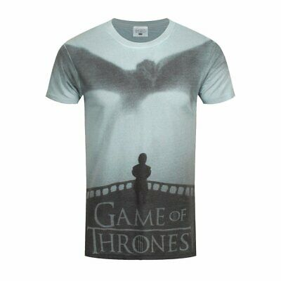 Game Of Thrones - Tyrion Dragon Silhouette - Official Mens T Shirt