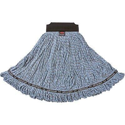 Rubbermaid Commercial Maximizer Blended Mop Heads Large Blue 1924782